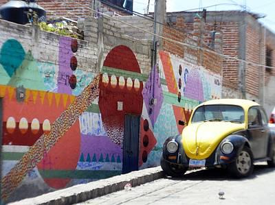 Photograph - Colorful Graffiti In San Miguel De Allende by Rosanne Licciardi