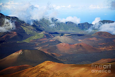Photograph - Colorful Haleakala by Ron Dahlquist - Printscapes