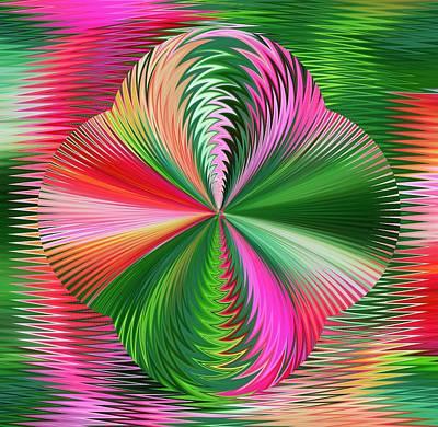 Digital Art - Colorful by Halina Nechyporuk