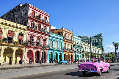 Photograph - Colorful Havana by Joel Thai