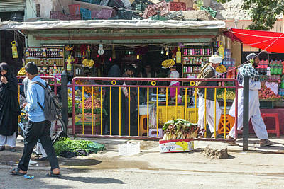 Photograph - Colorful Herat Market by SR Green
