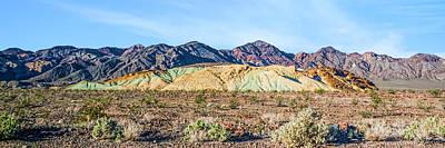 Colorful Hills Art Print