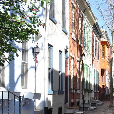 Philadelphia Photograph - Colorful Home by Brynn Ditsche