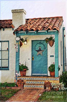 Photograph - Colorful Home Entrance by Gabriele Pomykaj