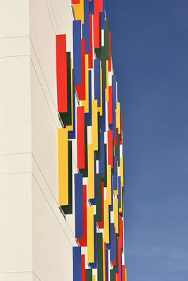Photograph - Colorful House Abstract by Marek Stepan