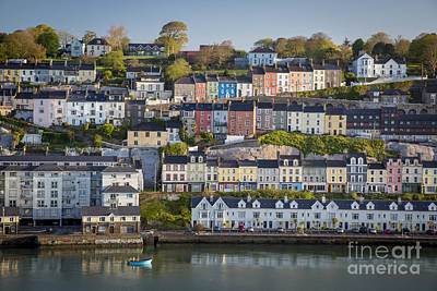 Photograph - Colorful Houses - Cobh Ireland by Brian Jannsen