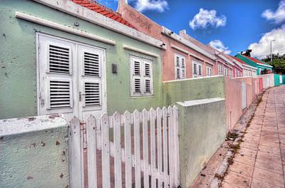 Photograph - Colorful Houses by Nadia Sanowar