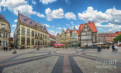 Photograph - Colorful Houses Of Bremen by JR Photography