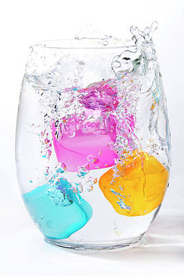Photograph - Colorful Ice by Vanessa Valdes