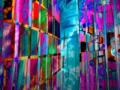 Photograph - Colorful Inspirational Street Art by Kathy M Krause