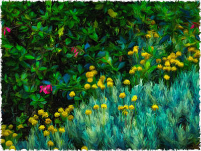 Digital Art - Colorful Irish Landscape by James Truett