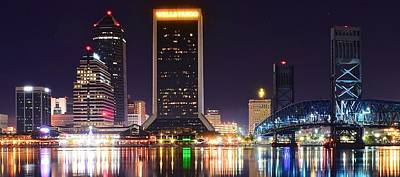 Photograph - Colorful Jacksonville by Frozen in Time Fine Art Photography