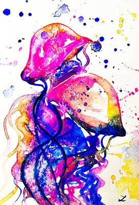 From The Kitchen - Colorful Jellyfish by Zaira Dzhaubaeva