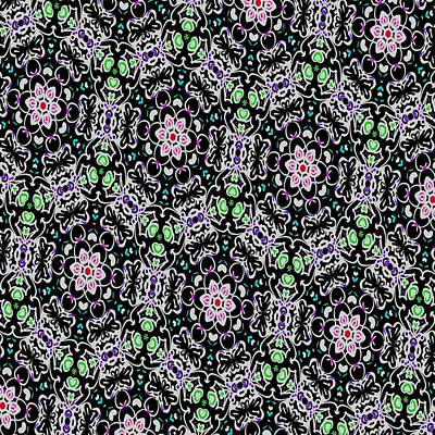 Digital Art - Colorful Kaleidoscope by Laurie Pike