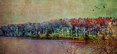 Photograph - Colorful Loch Raven Reservoir by Reynaldo Williams