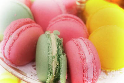 Photograph - Colorful Macaroons by Jim And Emily Bush