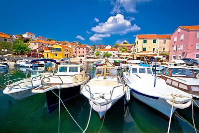 Photograph - Colorful Mediterranean Village In Croatia by Brch Photography