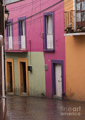 Photograph - Colorful Mexican Homes by Juli Scalzi