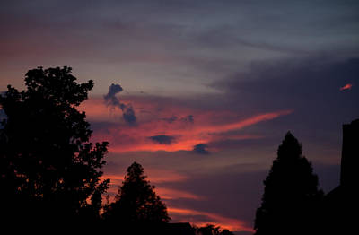 Photograph - Colorful Mississippi Sky 1 by Cathy Jourdan