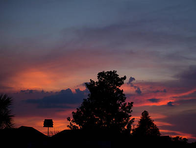 Photograph - Colorful Mississippi Sky 2 by Cathy Jourdan