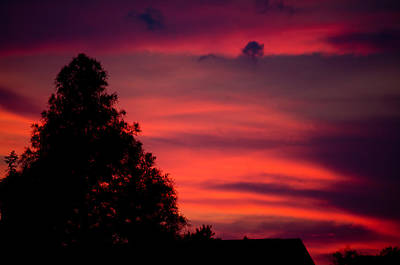 Photograph - Colorful Mississippi Sky 3 by Cathy Jourdan