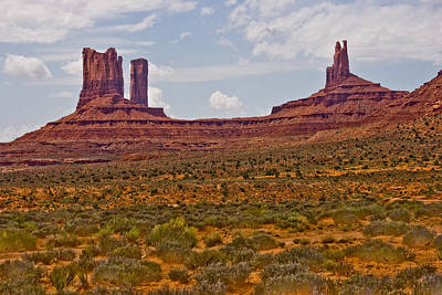 Photograph - Colorful Monument Valley by James BO  Insogna
