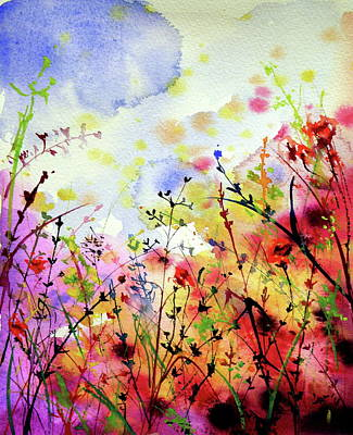 Painting - Colorful Mood II by Kovacs Anna Brigitta