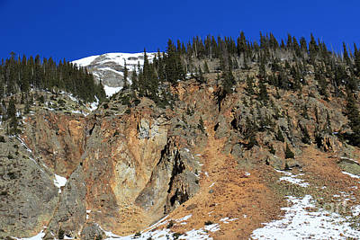 Photograph - Colorful Mountain II by Mary Haber