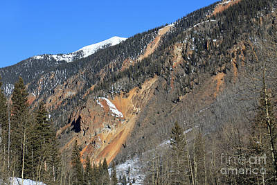 Photograph - Colorful Mountain by Mary Haber