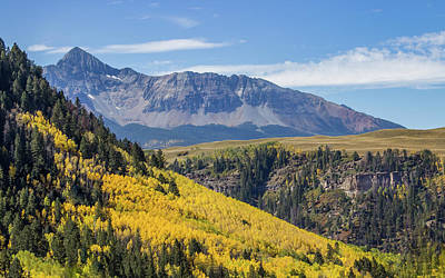 Photograph - Colorful Mountains Near Telluride by James Woody