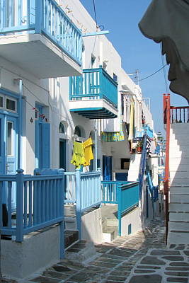 Photograph - Colorful Mykonos by Carla Parris