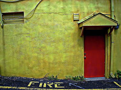 Photograph - Colorful Old Brick Building by Anthony Dezenzio