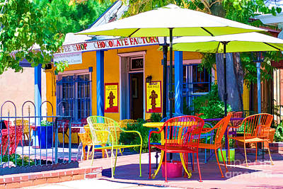 Colorful Old Town 2 Art Print
