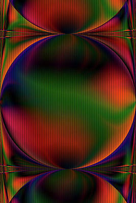 Digital Art - Colorful Orbs by Michelle McPhillips