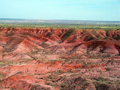 Colorful Painted Desert Art Print by Jeanette Oberholtzer
