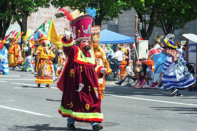 Parade Float Photograph - Colorful Parade Costume by Jess Kraft
