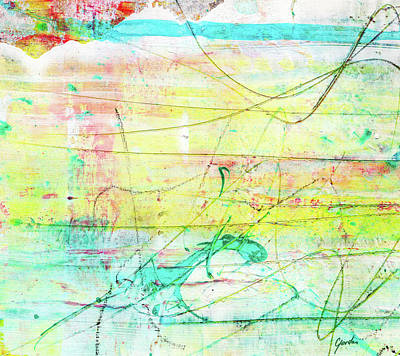 Painting - Colorful Pastel Art - Mixed Media Abstract Painting by Modern Art Prints