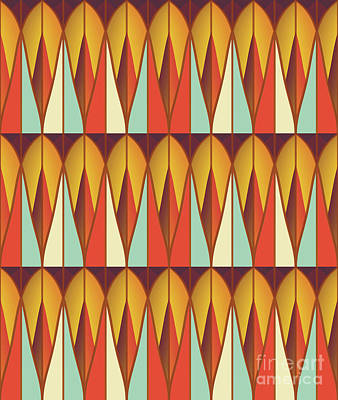 Colorful Pattern Art Print