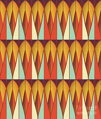 Algorithmic Digital Art - Colorful Pattern by Gaspar Avila