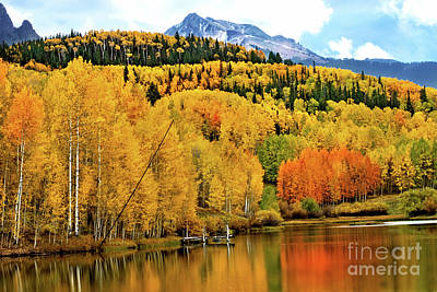 Photograph - Colorful Peaceful Colorado by Susan Warren