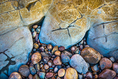 Photograph - Colorful Pebbles by Alexander Kunz