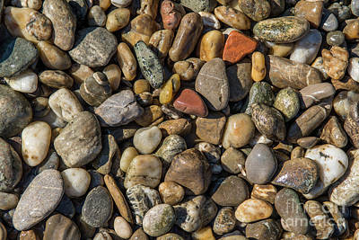 Pittsburgh According To Ron Magnes - Colorful Pebbles by Andreas Berthold