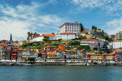 Photograph - Colorful Porto Portugal by Nahalia Segato