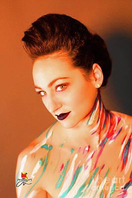 Photograph - Colorful Portrait by Afrodita Ellerman