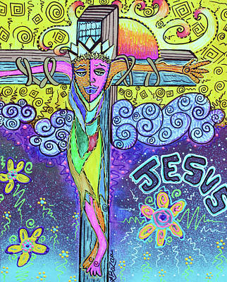 Dreamscape Drawing - Colorful Prayers by Laura Barbosa