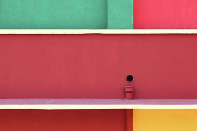Photograph - Colorful Rectangles  by Prakash Ghai