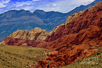 Photograph - Colorful Red Rock by Craig Wood