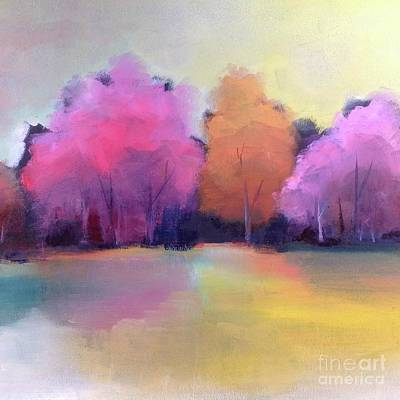 Painting - Colorful Reflection by Michelle Abrams