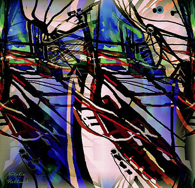 Painting - Colorful Reflections by Natalie Holland