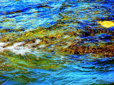 Photograph - Colorful Rocks And Water by Beth Akerman
